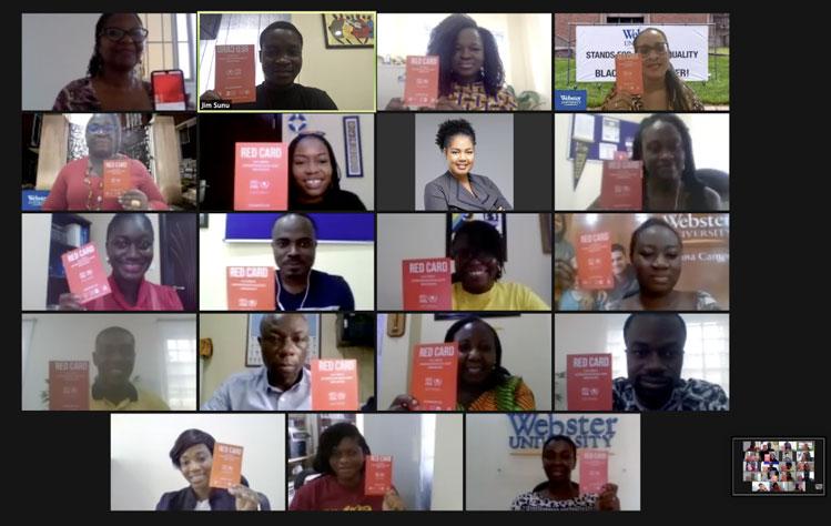 Ghana Red Card pledge