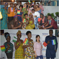 Webster Ghana celebrates their inaugural multicultural Thanksgiving dinner