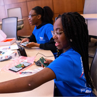 Cyber Explorers: Middle school girls gain insight into cybersecurity, computer science
