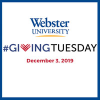 Make a Global Impact with Webster on #GivingTuesday on Dec. 3