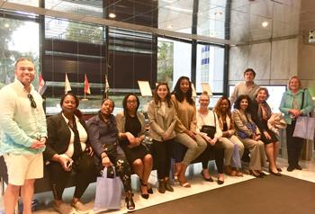 Students visited Tsakos Shipping