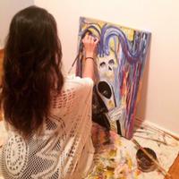 Talal painting