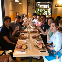 Webster MBA students from China enjoy InStock in Leiden