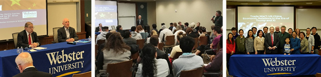 More than 80 students, faculty and community members attended the talk