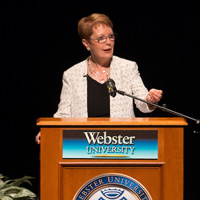President Stroble shared thoughts on identity and community, stigma and bias, diversity and inclusion.