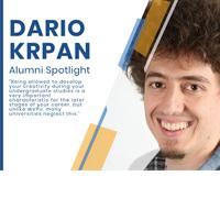 Alumni Spotlight – Dario Krpan