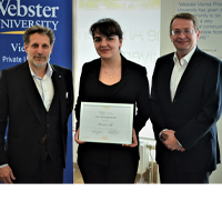 Syrian Journalist Rania Ali Awarded with a Fulltime Scholarship at Webster Vienna