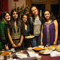 Snapshots: Geneva Students Host Global Thanksgiving