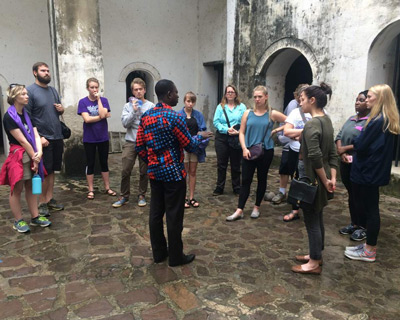 Ghana study abroad tour