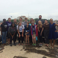 Students Connect in 'West African Experience' Study Abroad at Webster Ghana