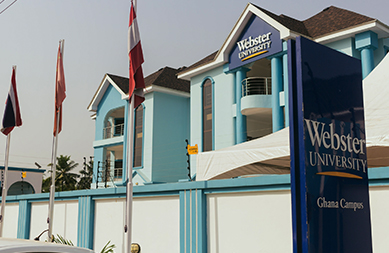 Webster Ghana campus