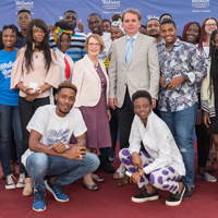 Stroble, Schuster Visit Ghana Campus, Meet Leaders in Accra