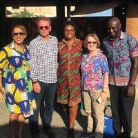 Stroble, Schuster Visit Webster Ghana Campus, Meet Leaders in Accr