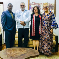 Webster Ghana Students Visit Former President Jerry J Rawlings