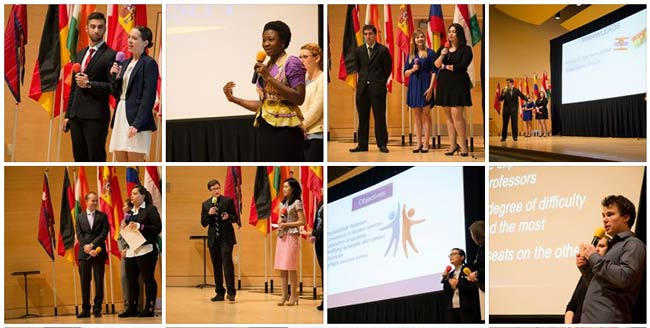 Presentations at the 2015 Global Student Leadership Summit
