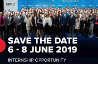 Internship Opportunity with GLOBSEC