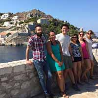 Athens Campus Welcomes Study Abroad Students