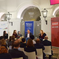 Panel Discussion with ORF and Webster Vienna