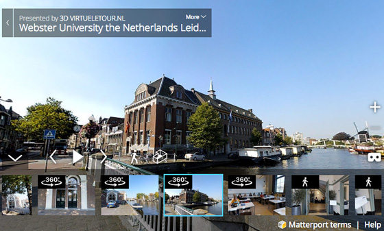 Virtual tour Webster Leiden