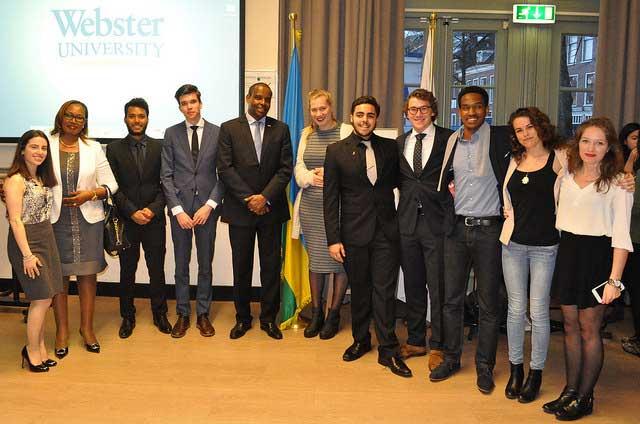 Karabaranga was welcomed at Webster Leiden
