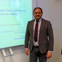 Research Seminar by Dr Workie