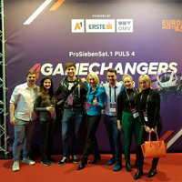 Dr Gaal's Global Competitive Strategies class attends the 4GameChangers Festival