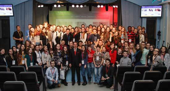 Schuster keynote at Tyumen