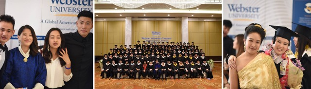 Webster University Thailand Commencement 2017