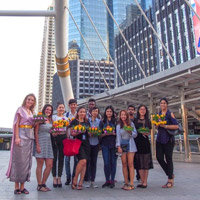 Webster Thailand Campuses Celebrate Loy Krathong Festival