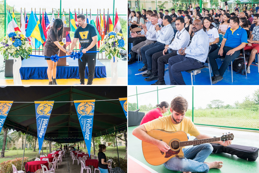 Grand Opening of the Multipurpose Court in Thailand.