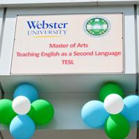 Webster MA in TESL