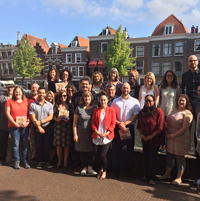 WINS partners at Webster Leiden