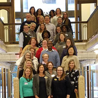 Webster colleagues gathered in St. Louis from around the network to discuss, learn, and promote high standards in academic advising.