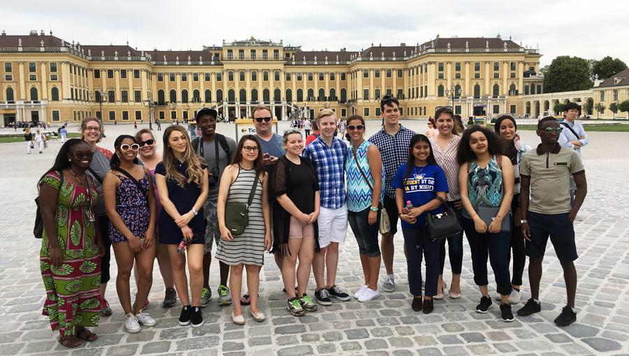 GSLS Schonbrunn Palace in Vienna