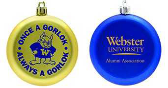 Webster Holiday ornament