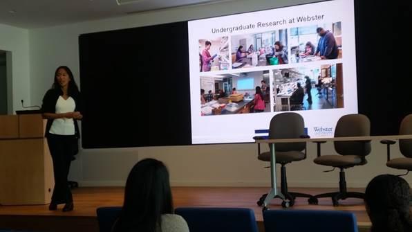 Webster undergraduate research