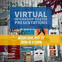 School of Communications Virtual Internship Poster Presentations