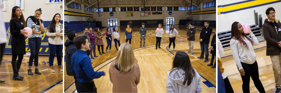 International Orientation in Grant Gym