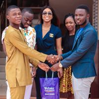 Innovative DJ Kelvin Doe Motivates Students at Ghana Campus