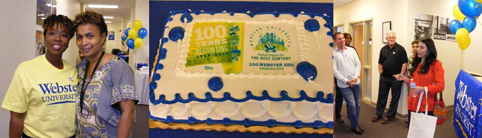 Celebrating Webster's Centennial at Lakeland, Florida