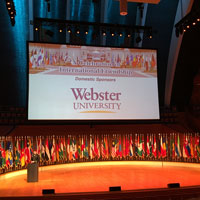 Webster sponsored the Command and General Staff College Foundation's International Friendship Gala.