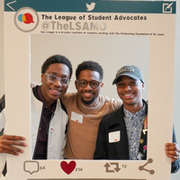 Webster Students Participate in the League of Student Advocates Conference