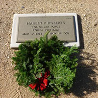 Luke AFB Students Remember Veterans with Wreaths of Honor
