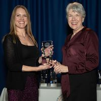Nicole Miller Struttmann named Science Educator of the Year