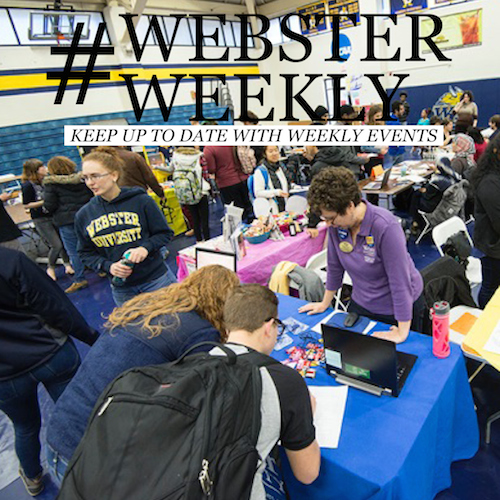 Plan Your Webster Week (January 18-24)