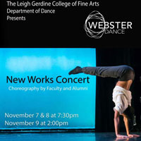 Webster University Dance Faculty, Alumni, Students Collaborate in 'New Works' Nov. 7-9
