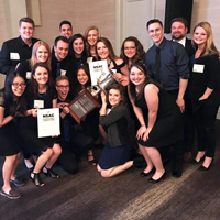Webster University Advertising Campaign class is once again the District 9 winner of the National Student Advertising Competition