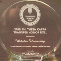 Webster Sponsors Phi Theta Kappa International Convention, Joins PTK in Centennial Celebration