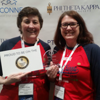 Webster Sponsors Phi Theta Kappa, Receives Honor Roll Award for Third Consecutive Year