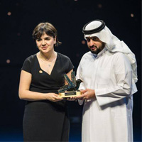 Vienna Student Receives Global 'Champion of Tolerance' Award in Dubai